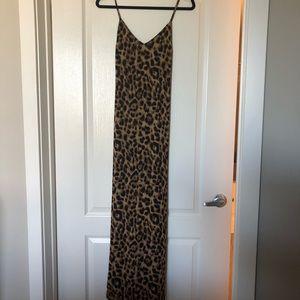 Reformation Cheetah Print Dress
